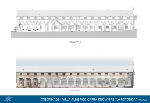Colonnade Villa Almerico Capra known as La Rotonda, image 01