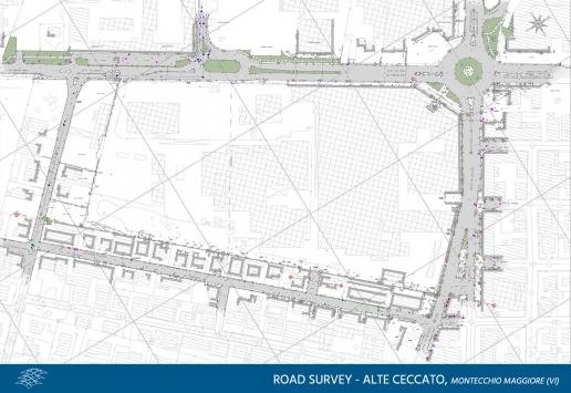 Road survey Alte Ceccato di Montecchio Maggiore