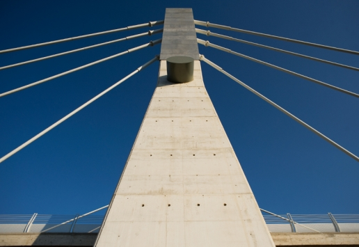 Cable-stayed bridge A31 Highway image 03