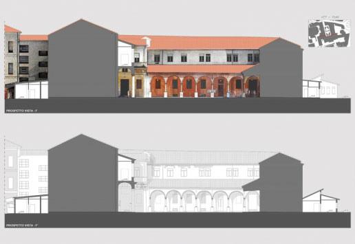 Laser Scanning Chiostro Ospedale San Bortolo Vicenza