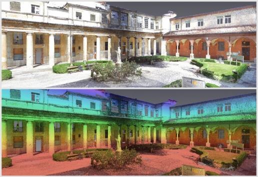 Laser Scanning chiostro San Bortolo Hospital