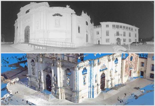 Laser Scanning Monteberico Church, image 03