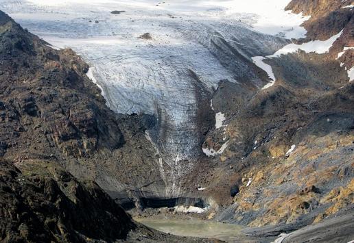 immagine rlievi topografici ghiacciai