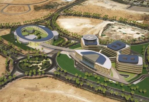 BIM outsourcing AMC Academic Medical Center Dubai 2