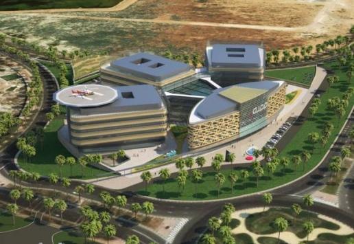 BIM outsourcing AMC Academic Medical Center Dubai 1