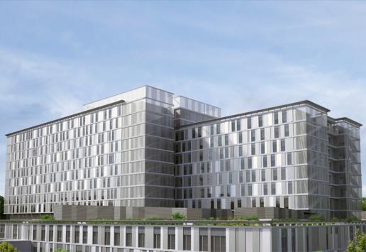 Project: Clinical Center | Belgrade, Serbia - main building