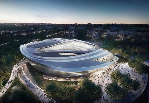 Progetto: Expo 2017 | Astana, Kazakistan - render Brick 1