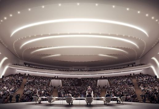 Progetto: Expo 2017 | Astana, Kazakistan - render Brick 2