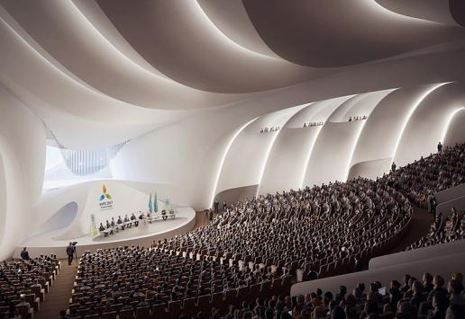 Progetto: Expo 2017 | Astana, Kazakistan - render Brick 3