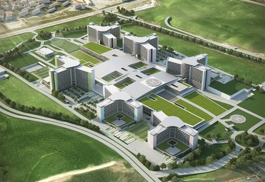 Progetto: Etlik Integrated Health Campus BIM outsourcing