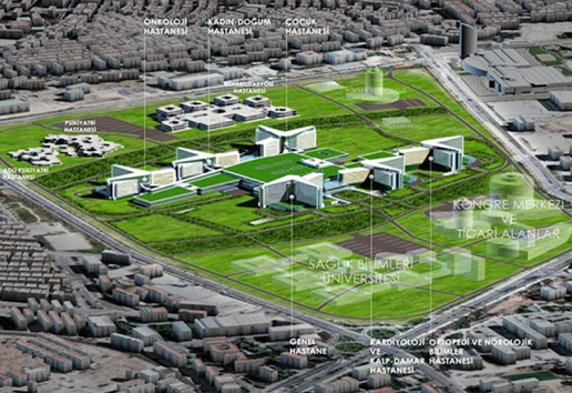 Project: Etlik Integrated Health Campus BIM outsourcing