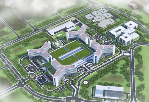 Project: Integrated Health Center | Gaziantep, Turkey BIM outsourcing