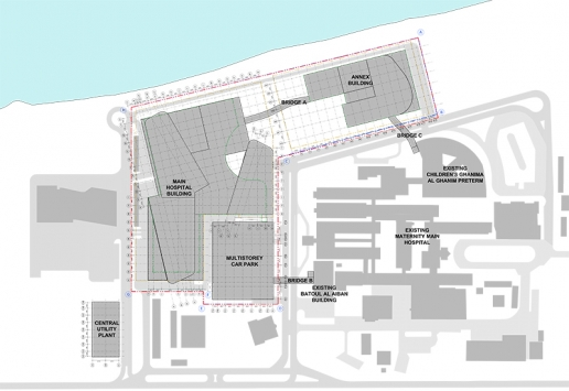 Progetto: New Maternity Hospital | Plan